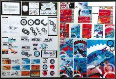 2012 NCEA Level 2 folio M Thumbnail Sketches, Sketchbook Ideas, Higher Design, Natural Forms, Visual Communication, Design Development, Repeating Patterns, Digital Media, Presentation
