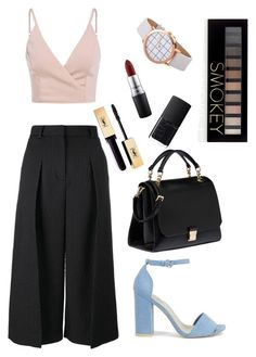 """Spring Time Flare"" by fifioriginals on Polyvore featuring Erdem, Nly Shoes, Miu Miu, Forever 21, NARS Cosmetics and MAC Cosmetics"