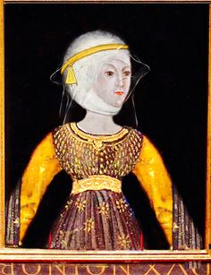 ISABELLA OF CASTILE, DUCHESS OF YORK:   (1355 – 23 December 1392) was the daughter of King Peter and his mistress María de Padilla (d. 1361). She accompanied her elder sister, Constance, to England after Constance's marriage to John of Gaunt, 1st Duke of Lancaster, and married Gaunt's younger brother, Edmund of Langley, 1st Duke of York.