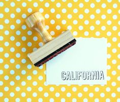 States Rubber Stamps  by annmarielovespaper