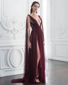 Country Wedding Dresses With Lace Paolo Sebastian haute couture autumn/winter - Vogue Australia. Country Wedding Dresses With Lace Paolo Sebastian haute couture autumn/winter - Vogue Australia Paolo Sebastian Wedding Dress, Evening Dresses, Formal Dresses, Wedding Dresses, Dresses Dresses, Photo Glamour, Looks Party, Cape Gown, Fantasy Gowns