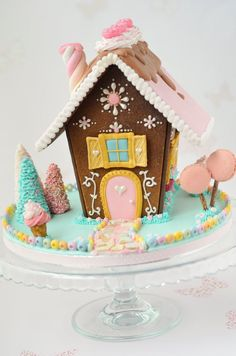 It's time for some Christams Baking - here are some creative Gingerbread House ideas. Be inspired by everything from gingerbread cookies to villages. Gingerbread House Designs, Gingerbread House Parties, Christmas Gingerbread House, Christmas Sweets, Christmas Goodies, Christmas Baking, Gingerbread Cookies, Christmas Fun, Holiday Fun