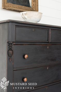 Little Black Dresser Makeover