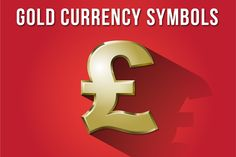 Check out Gold Currency Symbols by Industrial Artworks on Creative Market