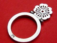 Little Sakura Stacking Ring