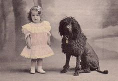 One Of Two Pictures Of A Little Girl And Her PWD.
