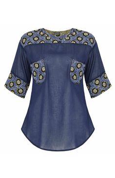 Beaded Pocket Shirt