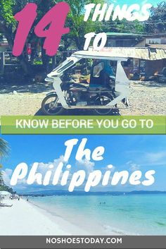 14 things you absolutely must know before you visit the beautiful Philippines