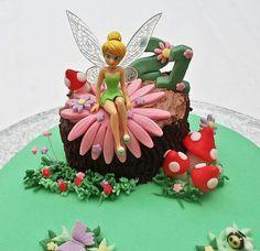 Tinkerbell Cake Fairy Cakes Pirate Fairy Cake Cake