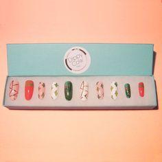 Cactus Press On Nails Fake Nails False Nails by DippyCowNails