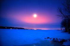Winter Moonlight by Chris Lockwood