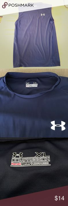 Men's Under Armour Tank Men's Under Armour tank. Almost new condition. 82% Polyester & 18% Elastane. Under Armour Shirts Tank Tops