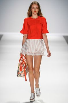 #Runway #NanetteLepore #Collection #SS2014