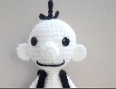 Amigurumi To Go!: Diary of a Wimpy Kid Inspired Crochet Doll (Greg) With Video Tutorial