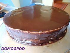 Domogród: Lśniąca polewa czekoladowa do tortu, ciast i ciast...