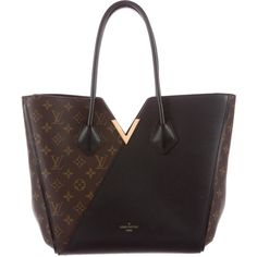 Pre-owned Louis Vuitton 2015 Monogram Kimono Tote (49,435 MXN) ❤ liked on Polyvore featuring bags, handbags, tote bags, brown, purse tote, tote handbags, brown tote purse, louis vuitton handbags and monogrammed tote bags