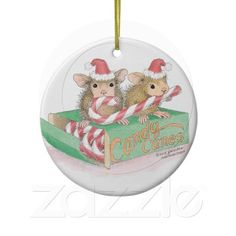 """House-Mouse Designs® - Ornaments - This product was recently added to our """"House-Mouse Designs® on Zazzle"""" store front. Click on the image for more information."""