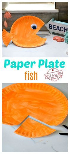 This Paper Plate Craft is perfect for little kids in preschool or big kids. This paper plate fish is an easy summer craft for all. for toddlers easy Easy Paper Plate Fish Craft for Kids Paper Plate Crafts For Kids, Summer Crafts For Kids, Projects For Kids, Summer Crafts For Preschoolers, Spring Crafts, Summer Fun, Painting Crafts For Kids, Camping Crafts For Kids, Diy Projects