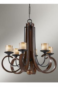 Sypelle Single-Tier Chandelier - Chandeliers - Ceiling Fixtures - Lighting | HomeDecorators.com