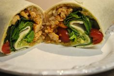 Chicken Burrito Wrap | 41 Healthy Things To Eat If You Absolutely Hate Salad