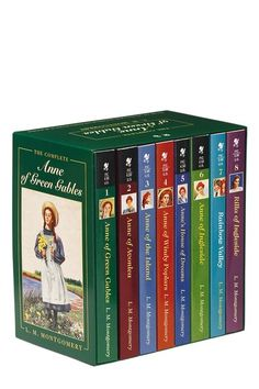 Anne of Green Gables series (except I have not yet read Rainbow Valley or Rilla of Ingleside).