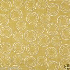 PRESTIGIOUS TEXTILES 100% COTTON CURTAIN FABRIC 'EMBANKMENT' Saffron  p/m Cotton Curtains, Curtain Fabric, Prestigious Textiles, Board, Sign, Planks, Tray