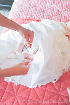 Adorable lace slippers | Penelope's Blessing Dress: Getting Ready