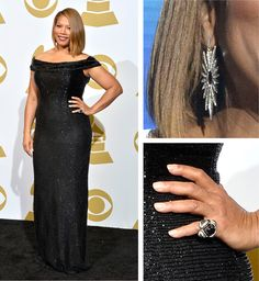 Queen Latifah's Grammy Fashion