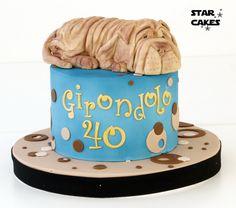 Shar Pei, Star Cakes, Madrid, Chinese, Facebook, Desserts, Food, Fondant Cakes, Pastries