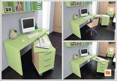 Folding Furniture, Space Saving Furniture, Furniture For Small Spaces, Home Furniture, Furniture Design, Furniture Storage, Office Furniture, Small Room Design, Home Room Design