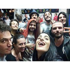 Eccoci qua! Felici dopo il concerto bomba a Vascon (Treviso)! Festeggiamo la penultima notte da celibe… http://t.co/3gXcX4UWCV Levante (@levantecanta) June 21, 2014levanteofficial's photo on Instagram