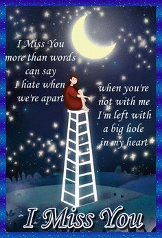 If you miss them more than words can say then let them know with this sweet card. Free online Miss You More Than Words ecards on Everyday Cards Morning Hugs, Morning Wish, Healing Wish, Legs Up The Wall, I Miss You More, Miss You Cards, Saying Sorry, Wishes For You, Get Well Cards