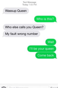 The forgotten queen: | 35 Texts From 2015 That Are Just Really Fucking Funny