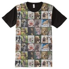 Cute & Funny Dogs Photo Collage t-shirt, Men's, Size: Large, Floral White / Sea Shell / Linen Funny Dog Photos, Cute Funny Dogs, Dog Dental Care, Dog Items, Stylish Shirts, Dog Training Tips, S Shirt, Pet Dogs, Dog Lovers