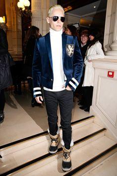 Pin for Later: Sieht so vielleicht die neue Kollektion von Balmain für H&M aus? Jared Leto