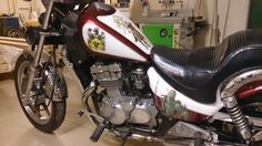 Kawasaki EN500 after