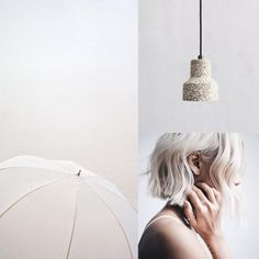 09⎥16 moodboard aureliedhuit.com #moodboard #tendance #September #septembre #inspiration #design #graphic #graphisme #umbrella #parapluie #woman #femme #cheveux #hair #lampe #light #lamp #lumiere #bague #ring #gray #gris #blanc #white #couleurs #colors Image Pinterest, Inspiration Design, Art Director, Graphic, September, Colors, Hair, Woman