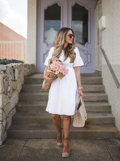 5 White Dresses for the Bride-to-Be | The Teacher Diva: a Dallas Fashion Blog featuring Beauty & Lifestyle
