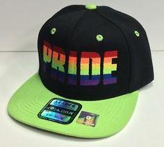 FLAT BILL SNAPBACK Hat LGBT