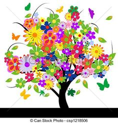 Flowers Stock Illustrations. 350,999 Flowers clip art images and ...