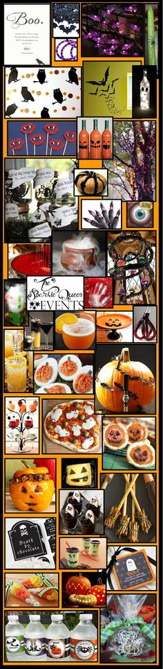 Design Board: Halloween Party {for adults only}