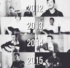 OMG! How he grows  Shawn!!