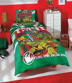 Kids Bedroom Sets Ideas Ninja Turtle Age Mutant Turtles