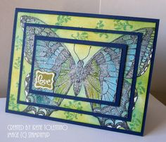 Relax. Make a Card: Swallowtail - Triple Time Stamping