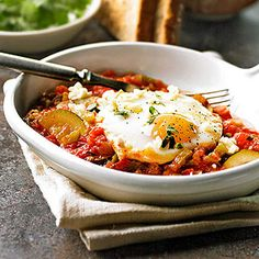 Spanish Eggs From Better Homes and Gardens, ideas and improvement projects for your home and garden plus recipes and entertaining ideas.