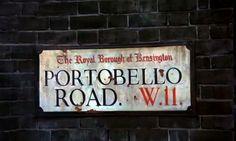 Portobello Road Sign - Bedknobs and Broomsticks (1971)