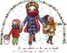 Nouveau Petit dessin de famille collection automne-hiver 2016.