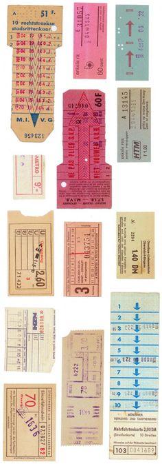 MINT GERMAN TRAM TICKETS ONEILL © 2012