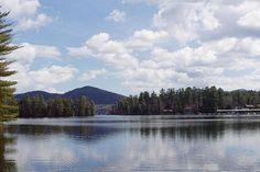 Lake Placid - photograph by John Telfer fineartamerica.com #lakephotography #lakeplacid