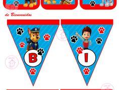 Kit Imprimible Paw Patrol Patrulla De Cachorros Tarjetas #1 - U$S 5.99 en Mercado Libre